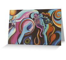 Mirror Spirit in the Wind Greeting Card
