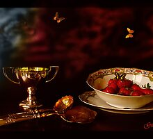 1900 - Strawberry Time by Gilberte