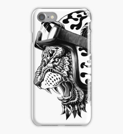 Tiger Helm iPhone Case/Skin