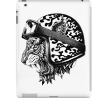 Tiger Helm iPad Case/Skin