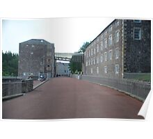 New Lanark - the mill Poster