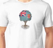 Tree of Life with Fiji Flag Unisex T-Shirt