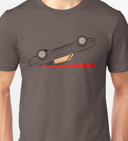 1966 Ford Mustang Fastback (Upside Down) Unisex T-Shirt