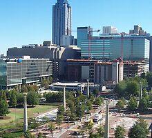Downtown Atlanta, Georgia by B. Brannen