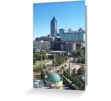 Downtown Atlanta, Georgia Greeting Card
