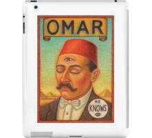 Omar iPad Case/Skin