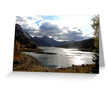 Medicine Lake, Jasper National Park Greeting Card