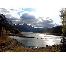 Medicine Lake, Jasper National Park Photographic Print