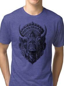 Bison Tri-blend T-Shirt
