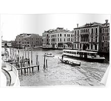 Grand Canal Mornings Poster