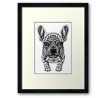 Frenchie (French Bulldog) Framed Print