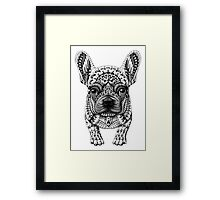 Frenchie (French Bulldog) Framed Print
