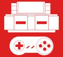 Let's Play SNES (White Kids Clothes