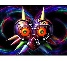 Majoras mask Photographic Print