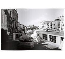 Venice Grand Canal Mornings Poster
