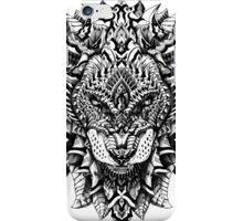 Ornate Lion iPhone Case/Skin