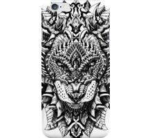 Ornate Lion iPhone Case/Skin