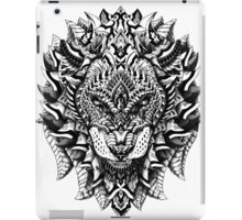 Ornate Lion iPad Case/Skin