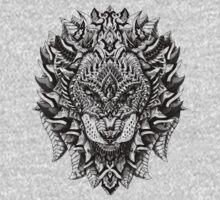 Ornate Lion Kids Clothes