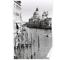 The Grand Canal Mornings Poster