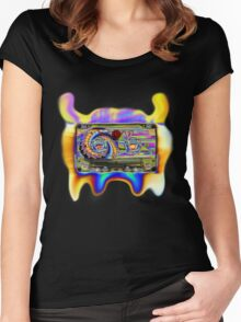 Acid tape Alien Women's Fitted Scoop T-Shirt
