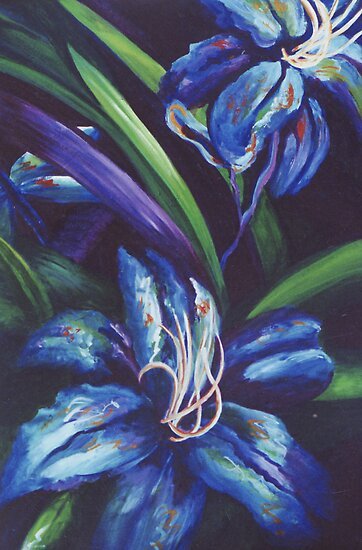 Blue Rhapsody by Jill Mattson