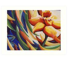 Daffodil Dance Art Print