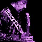 Jimi Hendrix [Purple]... by Doug Afasene