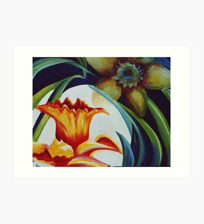 Flower Essence Art Print