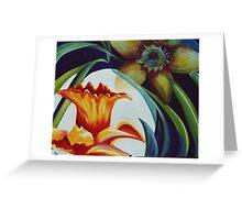 Flower Essence Greeting Card