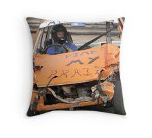Banger Racing Throw Pillow