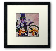 Flower Light Framed Print