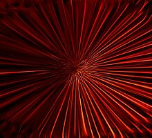 Tunnel Vision in Red by Shelley Neff