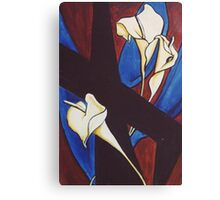 Lily Cross Canvas Print