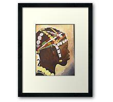 African Prince Framed Print