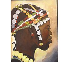 African Prince Photographic Print