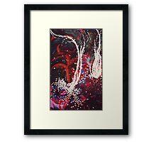 Underwater Flowers Framed Print