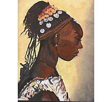 African Princess Photographic Print