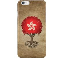Tree of Life with Hong Kong Flag iPhone Case/Skin