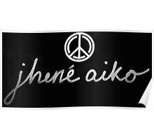 Jhene Aiko Logo Poster
