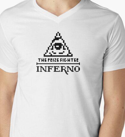 Half Measures ultra retro Mens V-Neck T-Shirt