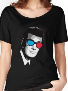 Buddy Holly 3D Glasses Women's Relaxed Fit T-Shirt