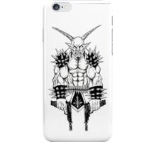 Goatlord Vengeance Death Metal Icon iPhone Case/Skin