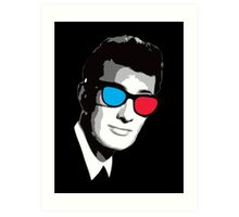 Buddy Holly 3D Glasses Art Print