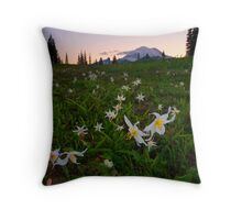 Avalanche of Lillies Throw Pillow