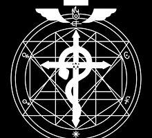 Fullmetal Transmutation - White by MusicandWriting