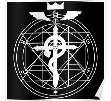 Fullmetal Transmutation - White Poster
