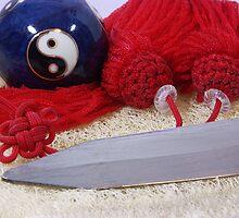 Yin Yang Ball and Tai Chi Sword by stevelink