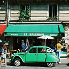 Le Splendid 2CV - Paris by Eric Cook