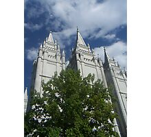 Salt Lake Temple Photographic Print